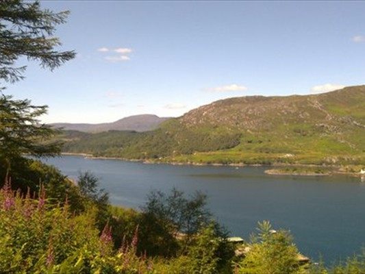 loch carron from the viewpoint
